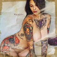 Valkyria (SuicideGirls) Dipinto Digitale - Creare Creatività - Grafico Pubblicitario Padova