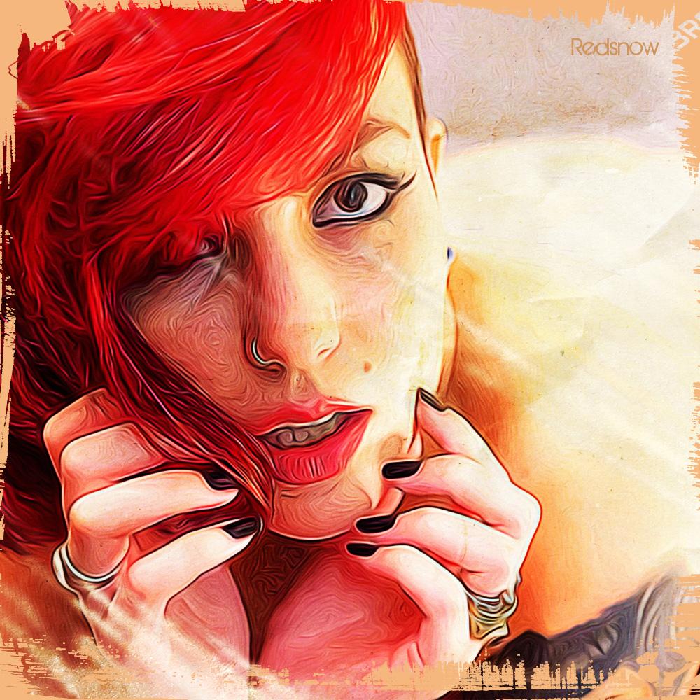 Redsnow (SuicideGirls) Dipinto Digitale - Creare Creatività - Grafico Pubblicitario Padova
