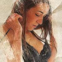 Zenit (SuicideGirls) Dipinto Digitale - Creare Creatività - Grafico Pubblicitario Padova