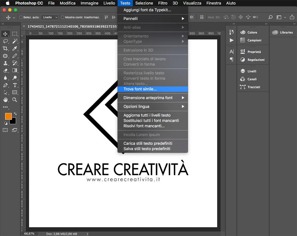 Siti Dove Caricare Foto come trovare font da un'immagine - creare creatività