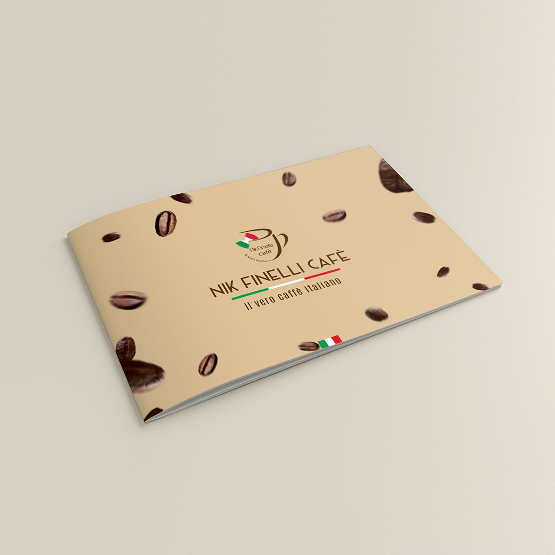 Nik Finelli Cafe Brochure