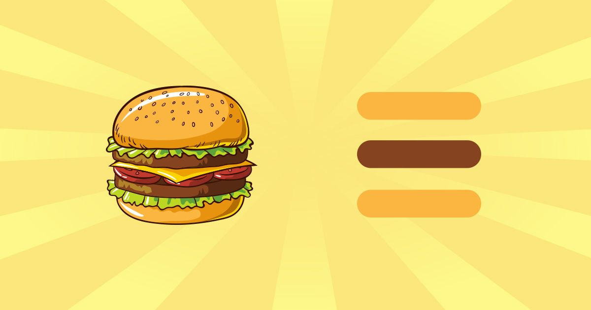 Hamburger Menu - Creare Creativita