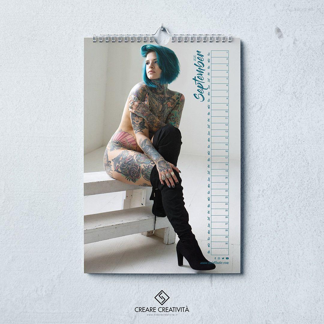 Heidi Lavon Calendario 2020 - 01