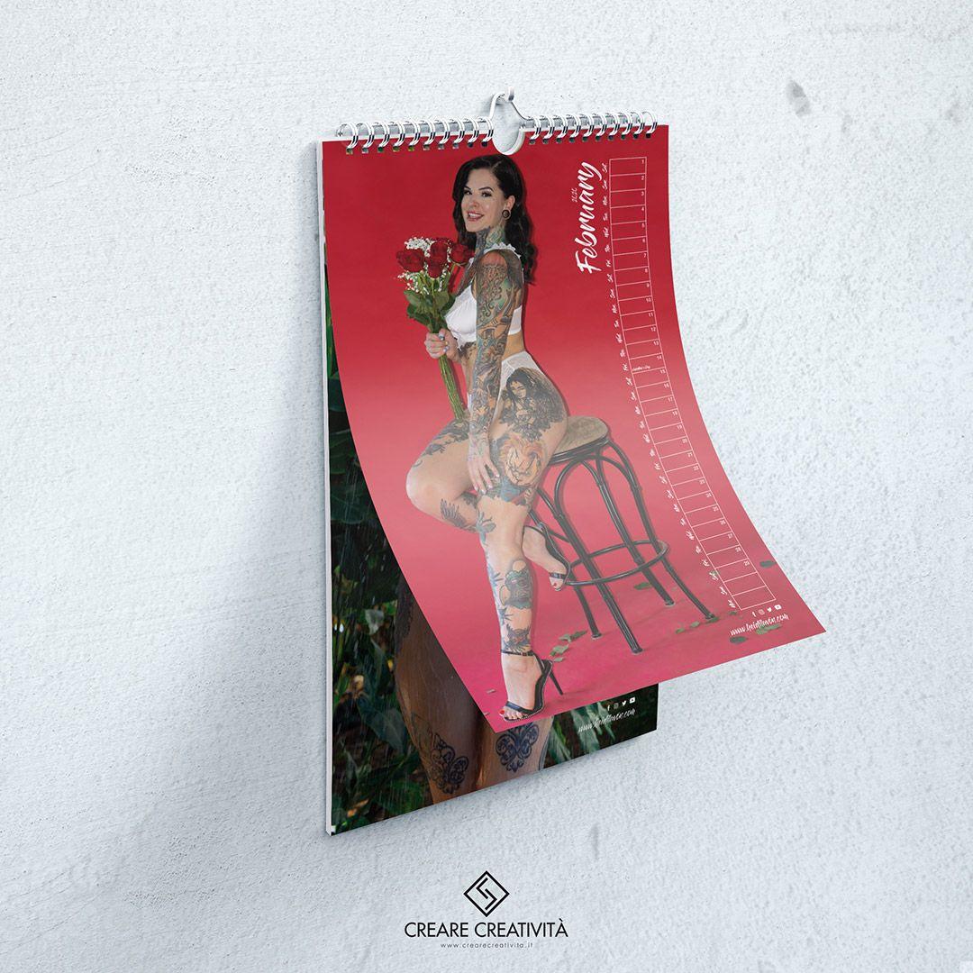 Heidi Lavon Calendario 2020 - 02