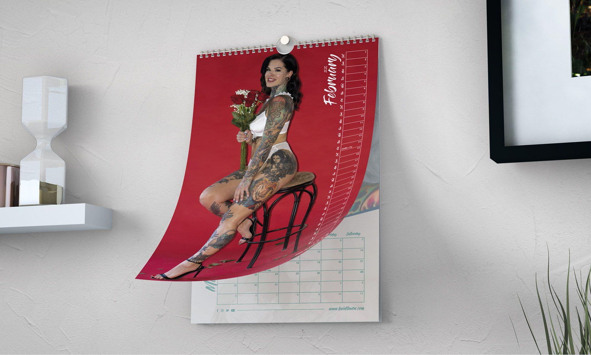 Heidi Lavon Calendario 2020 - Anteprima