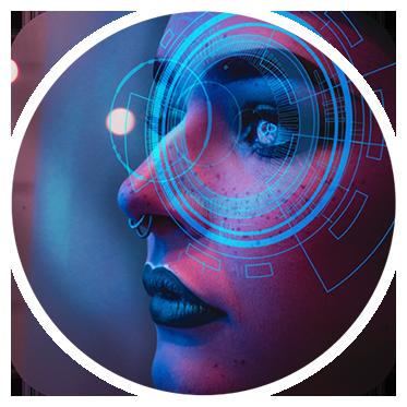 Cyberpunk by Creare Creatività Filtro Instagram Stories