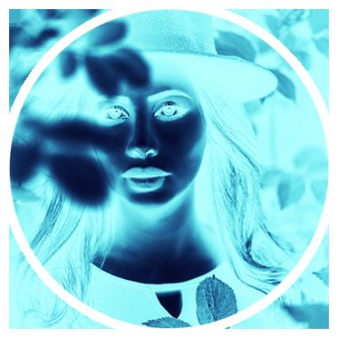 Neon Blue by Creare Creatività Filtro Instagram Stories