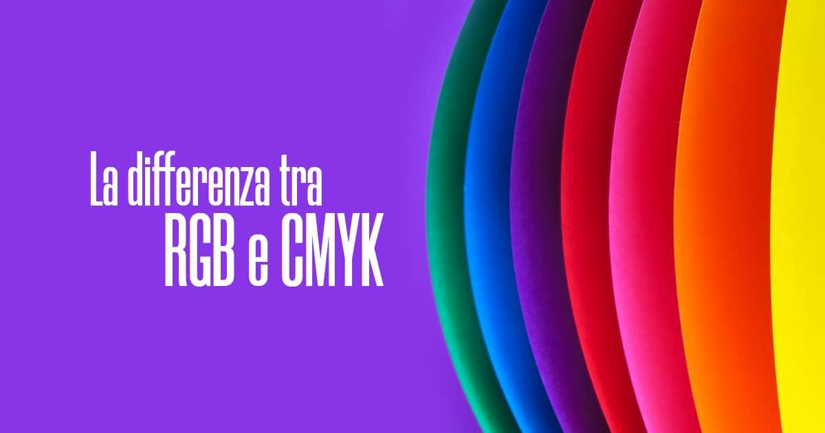 Differenza tra RGB e CMYK - Creare Creatività